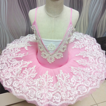 2017 New Professional Ballet Tutu Ballet Dress For Children Swan Lake Ballet Costumes Ballet Leotards For Girls Pancake Tutu фото