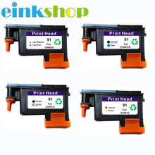 einkshop For HP 91 Print Head Replacement  For DesignJet Z6100 Z6100P Printhead C9462A C9463A C9460A C9461A hp 91 c9461a magenta yellow
