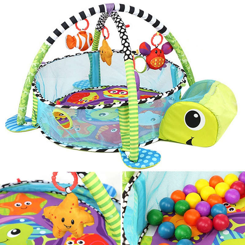 2018 Hot Baby Toddler Baby Play Set Activity Gym Play mats Toys For Children Gift Floor Rug Kids Toy Carpet Mat Babies Toddler baby play mats 2 cm thick kids rug developing mat for children carpet for children rugs baby mats toy for baby gym game eva foam
