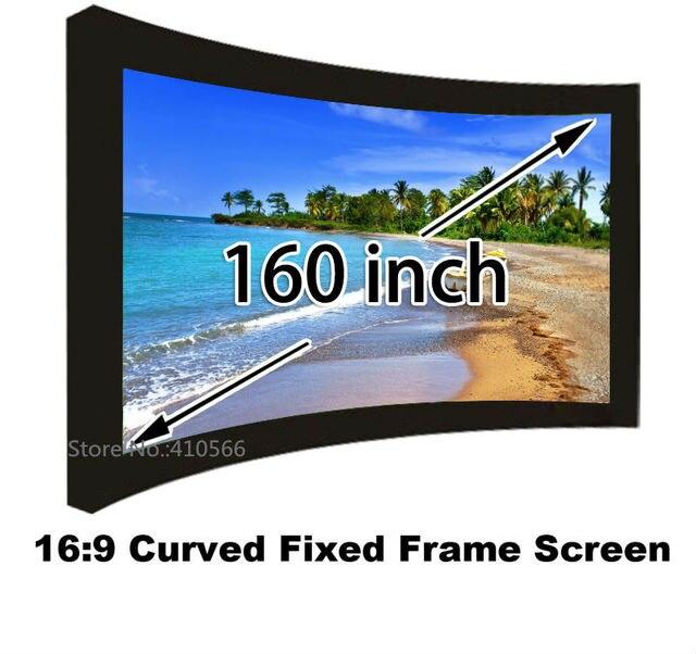 Proyector de cine en casa pantalla de proyección 160 \