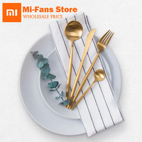 Xiaomi Ecological Chain Brand Maision Maxx Stainless Steel Tableware Set Knife Spoon Fork Tea Spoon 4