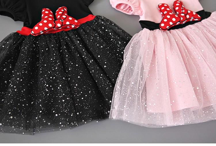 HTB1C6WVLpXXXXaiXVXXq6xXFXXX3 - 2017 Summer Baby Girls Dress Minnie Mouse Dresses For Girls Princess Minnie Dress Birthday Party Children Clothes Kids Costume