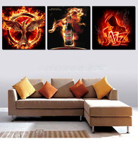 3pcs No Frame Wall Art Flamingo Definition Pictures Highest Ratings Canvas Prints Home Decoration Modular Paintings