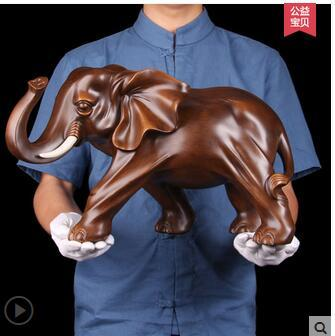 Ornament Artwork Wanlang A Elephant Ornaments Dwelling Furnishing Jewellery Crafts Items Housewarming Opening Workplace Residing Room Cupboard