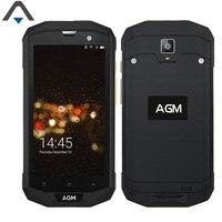 Original AGM A8 3 + 32G/4 64G Quad Core 5 pulgadas samrtphone 4050 mAh 13MP 720 P HD Android 7.0 NFC teléfono celular A Prueba de Golpes a prueba de agua