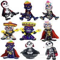 Halloween Plush Toy Taro ghost Doll Electric Funny Children's Toys Music Dancing Shantou Halloween Gift Party Gift Horror Toy