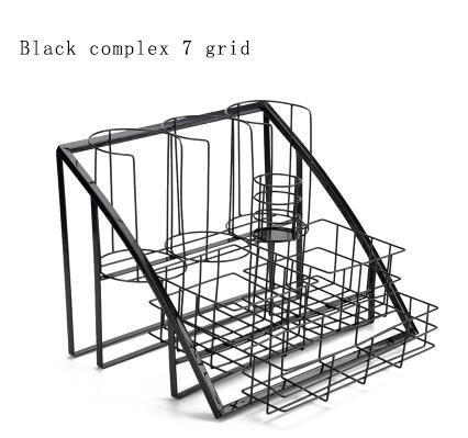 Cashier Desk Wire Basket Merchandise Display Rack Supermarket