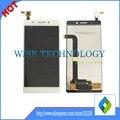 5.5 ''para pioneer k68w teléfono móvil lcd de pantalla con pantalla táctil digitalizador sin marco blanco color negro