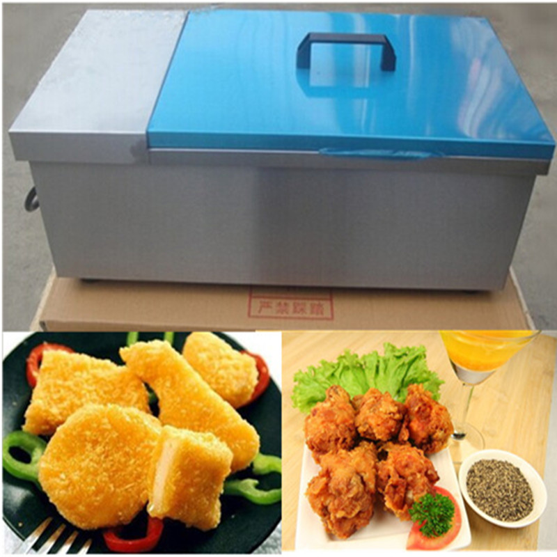 Commerical stainless steel 12 L deep fryer   ZF salter air fryer home high capacity multifunction no smoke chicken wings fries machine intelligent electric fryer