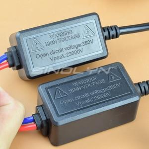 Image 4 - Sinolyn H7 H1 H11 D2H Xenon Kit dönüşüm HID balast AC ampuller projektör Lens sis farları aksesuarları Tuning 4300K 6000K 8000K