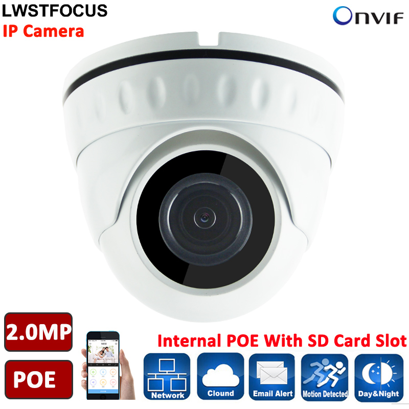 Micro IP Camera LWIRDNS200S IP67 built in SD Card slot 2MP IP Camera POE camera Security
