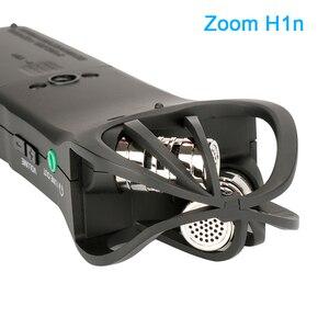 Image 3 - ZOOM H1 H1N poręczny rejestrator cyfrowy aparat fotograficzny rejestrator audio wywiad nagrywanie mikrofon stereofoniczny dla DSLR Boya BY M1 mikrofon