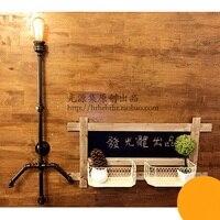 Ретро Ностальгический старый студийный настенный светильник водопроводные трубы оригинальный настенный светильник труба настенный свети
