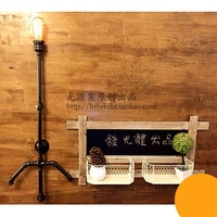 retro nostalgic old studio wall lamps Water pipes original wall light pipe wall lamp simple creative personality SG25