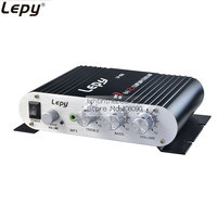 LP 838 Mini Hi Fi Stereo Amplifier Booster DVD Car Auto Motorcycle Home Audio Stereo Bass