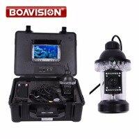 1/3 Sony CCD effio е 650tvl подводный Рыбалка Камера Рыболокаторы 7 TFT ЖК дисплей Мониторы 50 м кабель 18 шт. белый светодиод Поворот на 360 градусов