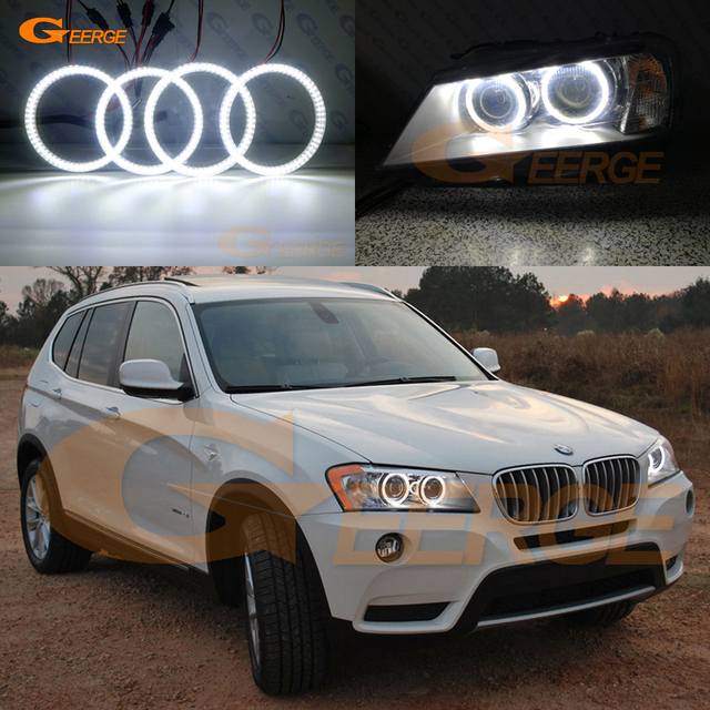 For BMW X3 F25 2010 2011 2012 2013 2014 Xenon Headlight Excellent Ultra Bright Illumination Smd