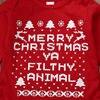 Merry Christmas Ya Filthy Animal Christmas Bodysuit
