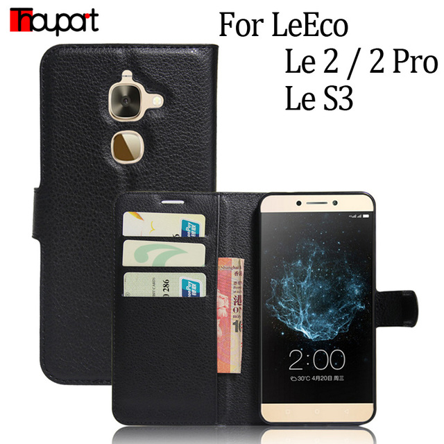 big sale ff140 e370f US $3.95 12% OFF|Thouport For LeEco Le 2 Case X527 X526 X620 Lychee Flip  Leather Cover LeTV Le Eco Le2 Pro Wallet Case For LeEco Le S3 X626 Cases-in  ...