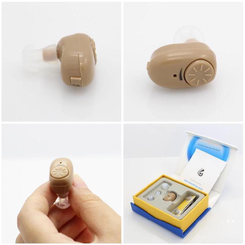 Brand New Adjustable Mini Ultra Small Invisible Sound Amplifier Hearing Aid In Ear Sound Enhancement Deaf Aid  For Ear