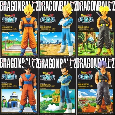 100%Original 15-18cm <font><b>Dragon</b></font> <font><b>Ball</b></font> Z <font><b>Super</b></font> <font><b>Saiyan</b></font> Goku <font><b>Vegeta</b></font> Trunks <font><b>anime</b></font> cartoon action & toy figures Collection model toy