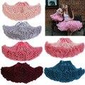 2016 мода женщина подростков взрослого девушки шифоновая юбка красочные юбка юбки танец ну вечеринку пышная юбка