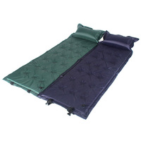 Inflatable Mattress with Pillow Camping Mat Automatic Pad 21 O'clock Sun Beach Lounger Outdoor Daybed Furniture Chaise