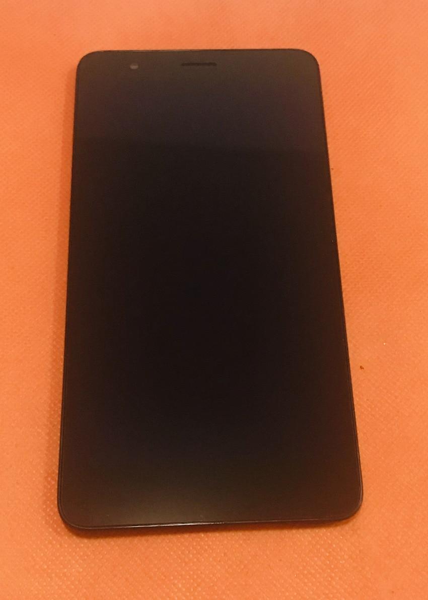 Использовать оригинальный ЖК дисплей + дигитайзер сенсорный экран рамки для Geotel Note mtk6737 четыре ядра 5,5 дюймов HD Бесплатная доставка