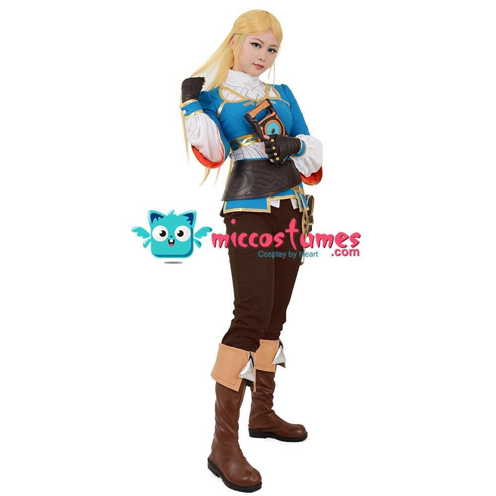 Zelda Botw Cosplay De Legend Of Zelda Adem Van De Wilde Prinses Zelda Cosplay Kostuum - 3