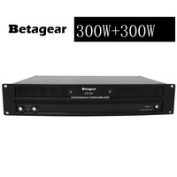 Betagear AMP300 Professional amplifier 350W+350W power amplifier 600W *2 @4ohm pro audio equipment dj sound system audio amp