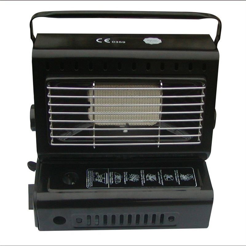 Outdoor Heater Burner Gas Heater For Travelling Camping Hiking Picnic Equipment Dual purpose Use Portable Stove Heater Iron