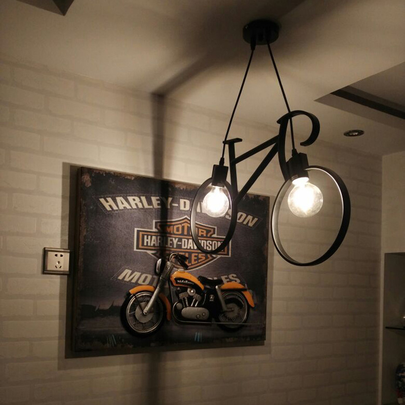 Retro Made Luminaires wrought iron cage pendant lights shopcase Kitchen light Restaurant Iron pendant lamp Bar Hanging lighting vintage iron pendant light industrial lighting glass guard design cage pendant lamp hanging lights e27 bar cafe restaurant