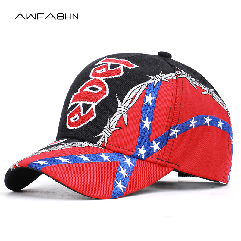 2019 New REBEL Embroidery   Baseball     Caps   TEXAS Men Hats High Quality Spring Summer Adjustable Cotton Trucker Sport Bone Male