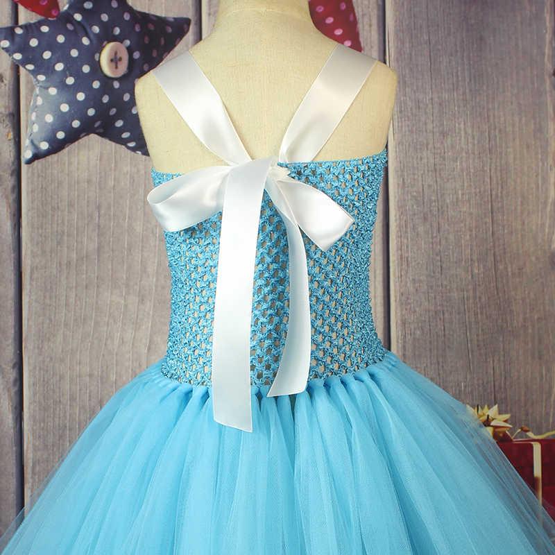2017 г. Алиса в стране чудес, рождественские вечерние платья-пачки для девочек, маскарадный костюм 2016 г., дизайнерское платье ручной работы из органзы Бесплатная доставка