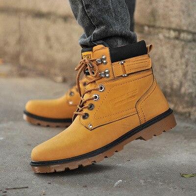 2017 Heißer Männer Schuhe Fashion Warm Pelz Winter Männer Stiefel Herbst Leder Schuhe Für Mann Neue High Top Leinwand Freizeitschuhe Männer Exquisite Handwerkskunst;