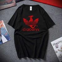 Dracarys deporte Juego de tronos Unisex adultos camiseta harajuku Vintage estilo camiseta Camisetas hombre Camiseta hombres ropa 2019