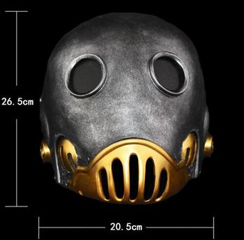Hot Halloween Party Cosplay Hellboy Movie Cosplay Masquerade Kroenen Nazi face Mask Adult Size Head Prop The Clockwork Man Masks