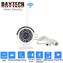 DAYTECH Wireless IP Camera WiFi Security Camera HD 720P/1080P Waterproof Outdoor Monitor Two-way Audio IR Night Vision DT-H03