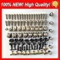 Fairing bolts full screw kit For YAMAHA YZFR6 03-05 YZF600 YZF-600 YZF R6 YZF-R6 03 04 05 2003 2004 2005 2F7 Nuts bolt screws