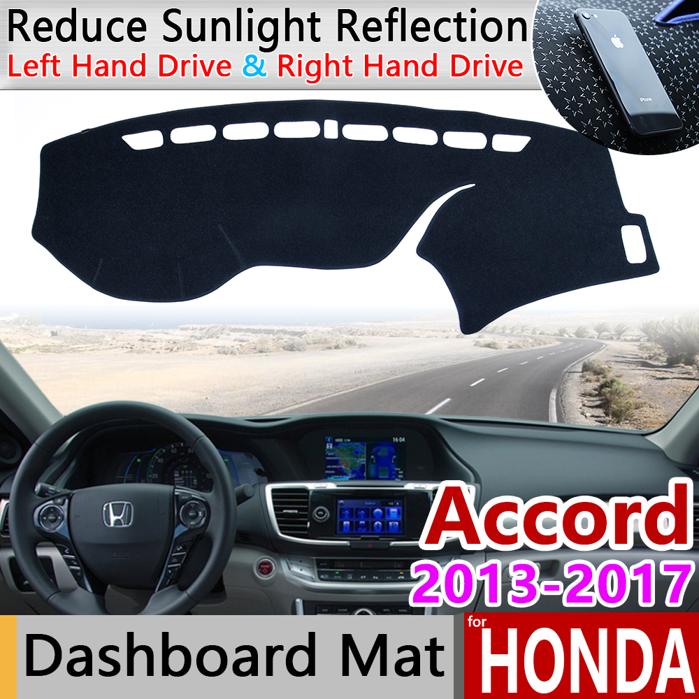 for <font><b>Honda</b></font> <font><b>Accord</b></font> 2013 2014 2015 <font><b>2016</b></font> 2017 Anti-Slip Mat Dashboard Cover Pad Sunshade Dashmat Protect Carpet Car <font><b>Accessories</b></font> 9 image