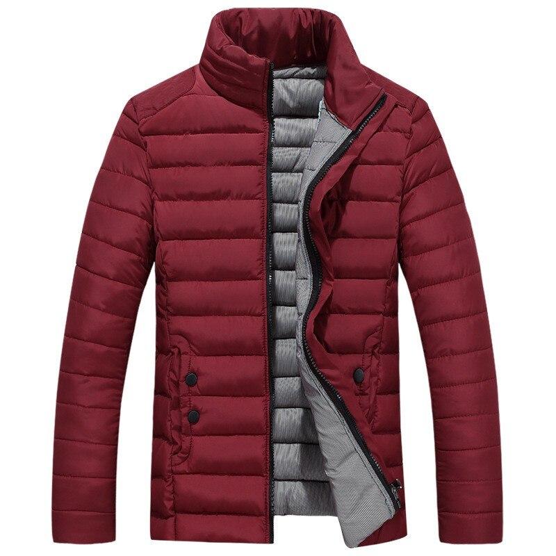 2018 Herbst Neue Männer Der Baumwolle Mäntel Jacken Jugend Jacke Dicke Daunen Baumwolle Mantel Stehkragen Winter Warme Männliche Kurze Parka Yp1159 Erfrischung