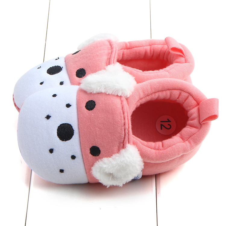 First Walkers Baby Shoes Cotton Anti-slip Booties Baby Girl Boy Shoes Animal Cartoon Newborn Slippers Footwear Booties Kids Gifts (8)