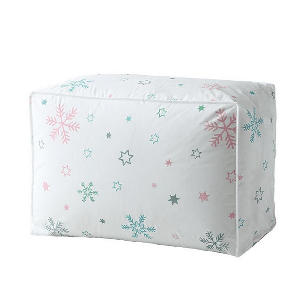 Складная сумка-хранилище, складной органайзер, сумка для одежды, одеяло, подушка, багаж, дышащий шкаф, органайзер, Прямая поставка - Цвет: A