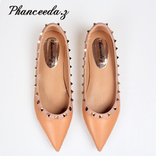 New 2018 Shoes Woman Flats Ladies Shoes High Quality Shoes For Women Top Casual Work Crystal Shoes Slippers Free shipping