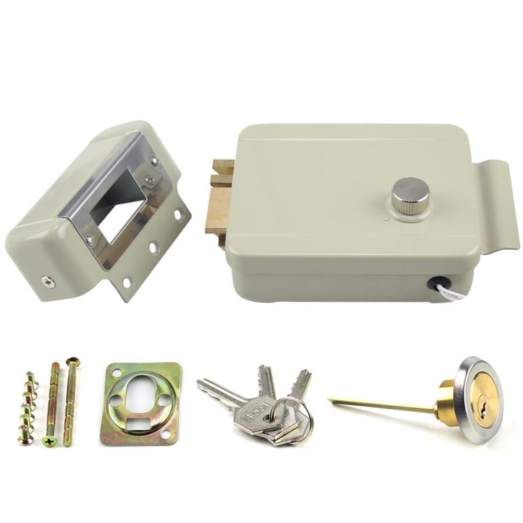Anti-theft Electric Controlled Lock , Electric Rim Lock (Double  Head  Right  Open) 3502080 canemu anti theft simulator