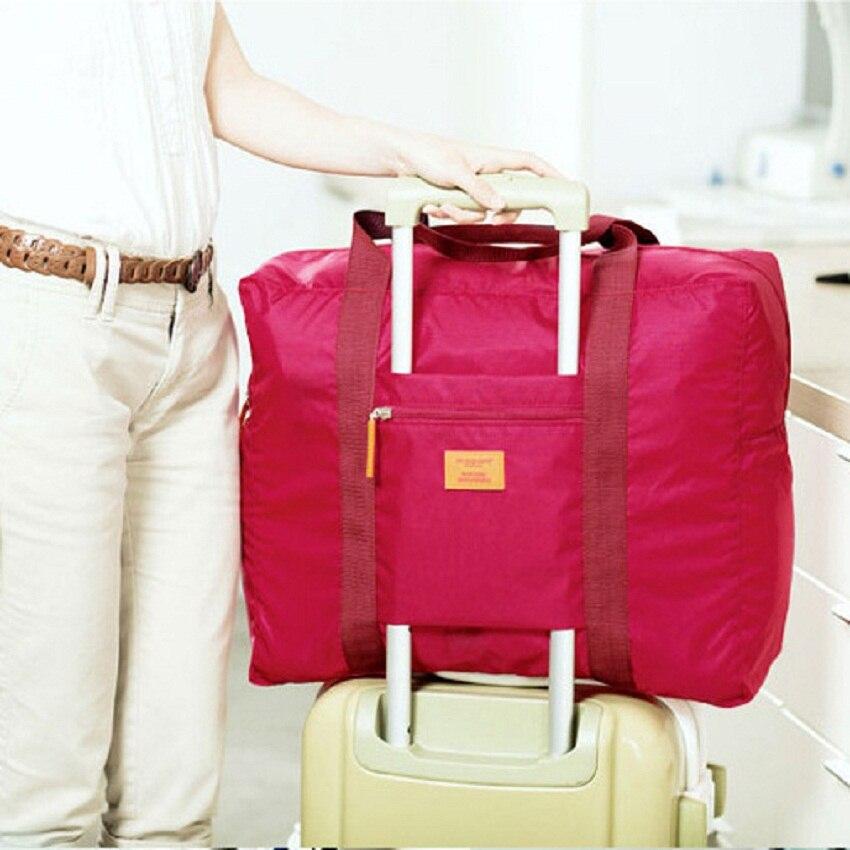 Multi-functional large waterproof travel package bag Folding Handbag Luggage bag organizer women Clothing storage bags