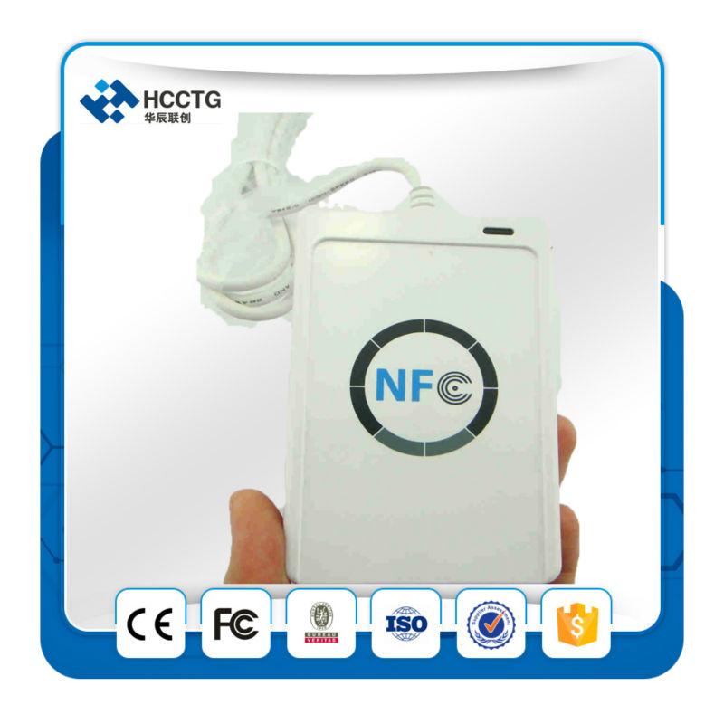 ISO 14443 NFC RFID USB Smart Card Reader & Writer with UID writable clone M1 IC Access Control Card +free SDK -- ACR122U ic usb reader 13 56mhz usb ic reader for user enrollment mf m1 card enroller page 2