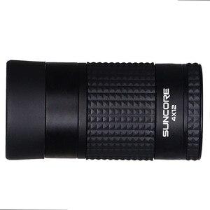 Image 5 - Zoom profesional Monocular 4x12 telescopio impermeable HD portátil telescópico Binocular caza Golf turismo