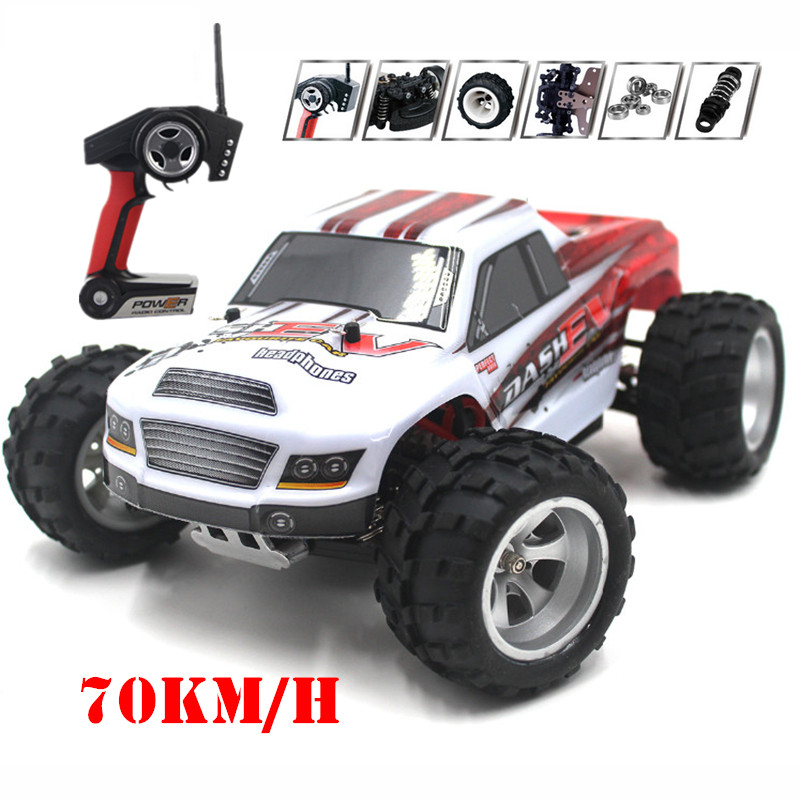 A979-B <font><b>1</b></font>:18 Scale 4WD 70KM/H RC Car Remote Control Racing Car Super Power High Speed Monster Truck Off-Road Vehicle Buggy Car