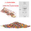 1 Paintball Bottle & 10000 Pcs Crystal Water Bullets For Bead Toy Gun Can Hold 200 Pcs Bullets Used For All Gun Toy Parts